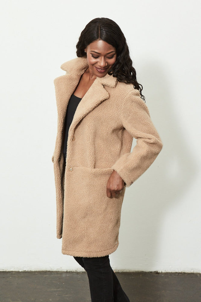 Teddy Coat - size XL