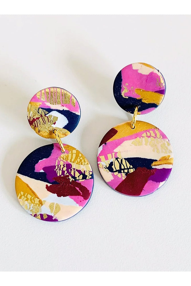 Winter Sunrise Medium Earrings