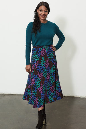 Load image into Gallery viewer, Wonder Leopard Skirt - Fabienne Chapot at The Bias Cut