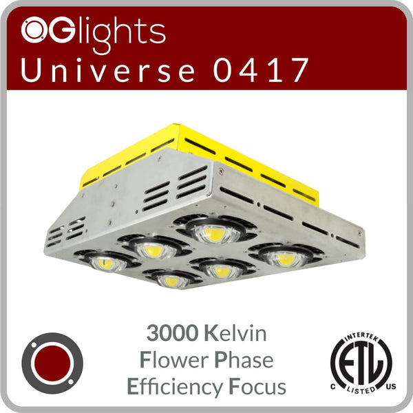OGlights Universe 0417-3000K-FP-EF LED Grow Light