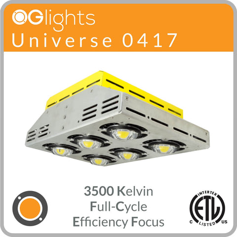 OGlights Universe 0417-3500K-FC-EF LED Grow Light