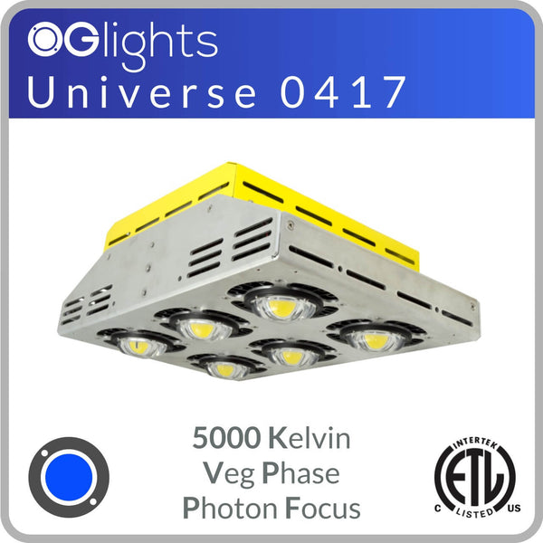 OGlights Universe 0417-5000K-VP-PF LED Grow Light