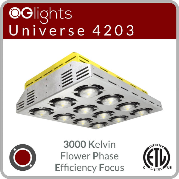 OGlights Universe 4203-3000K-FP-EF LED Grow Light