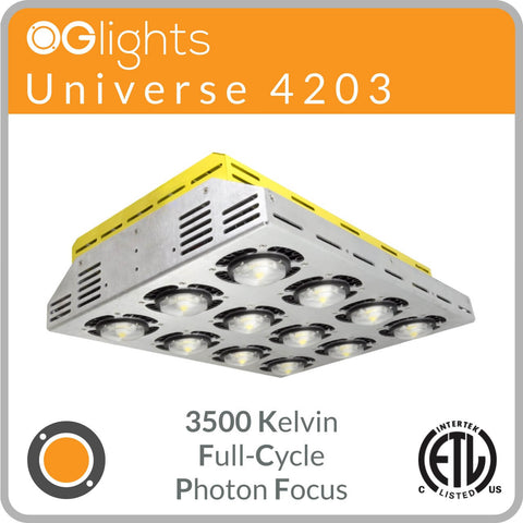 OGlights Universe 4203-3500K-FC-PF LED Grow Light
