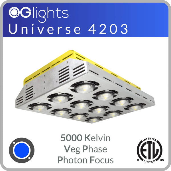 OGlights Universe 4203-5000K-VP-PF LED Grow Light
