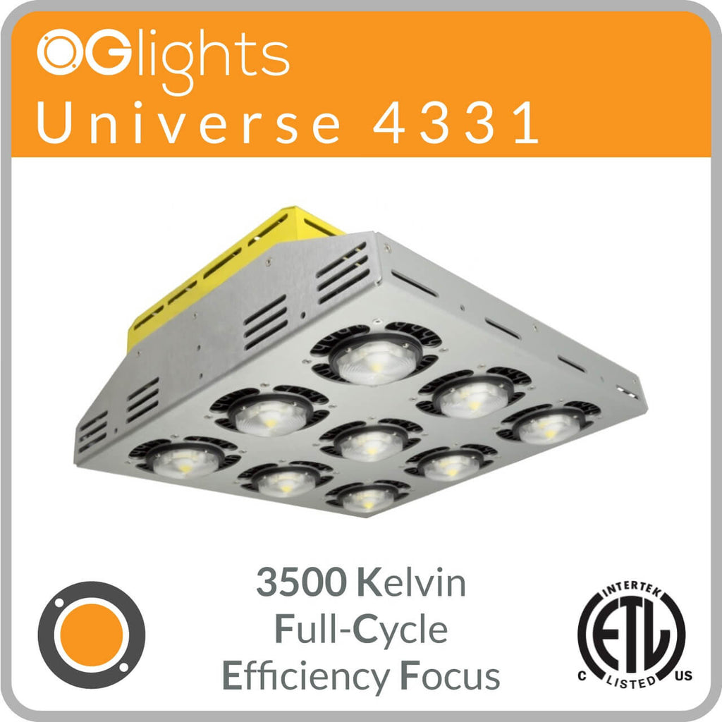 OGlights Universe 4331-3500K-FC-EF LED Grow Light