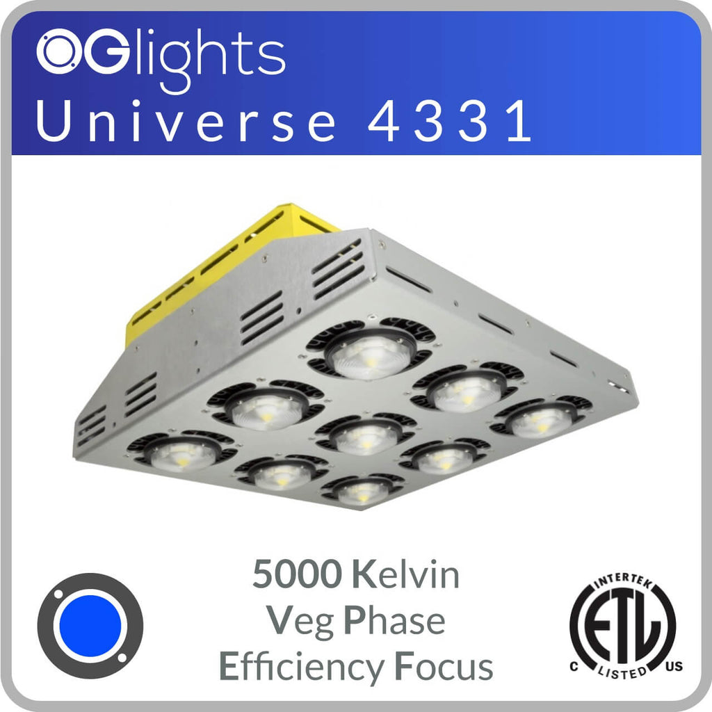 OGlights Universe 4331-5000K-VP-EF LED Grow Light