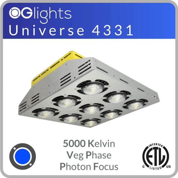 OGlights Universe 4331-5000K-VP-PF LED Grow Light