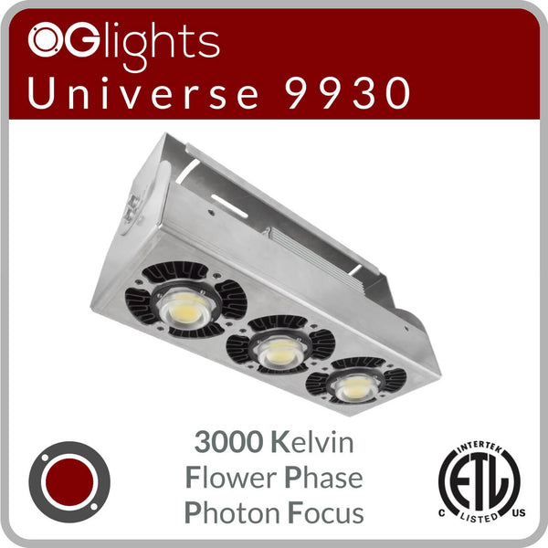 OGlights Universe 9930-3000K-FP-PF LED Grow Light