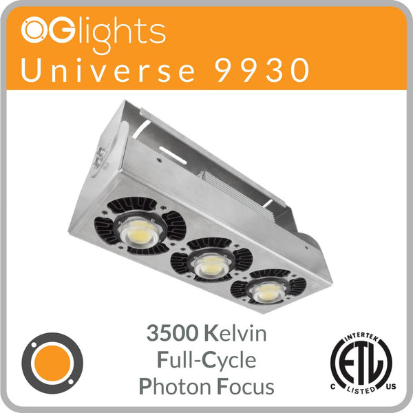 OGlights Universe 9930-3500K-FC-PF LED Grow Light