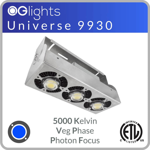 OGlights Universe 9930-5000K-VP-PF LED Grow Light