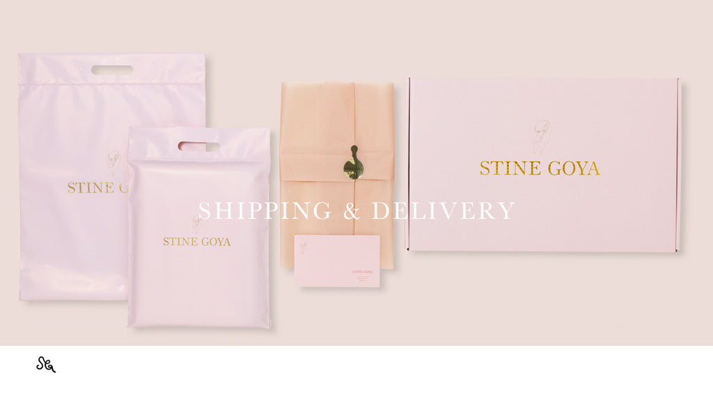 Shipping & Delivery - Stine Goya Webshop