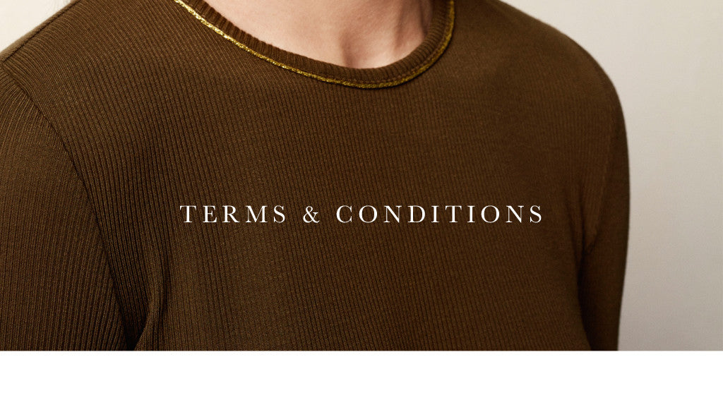 Terms & Conditions - Stine Goya