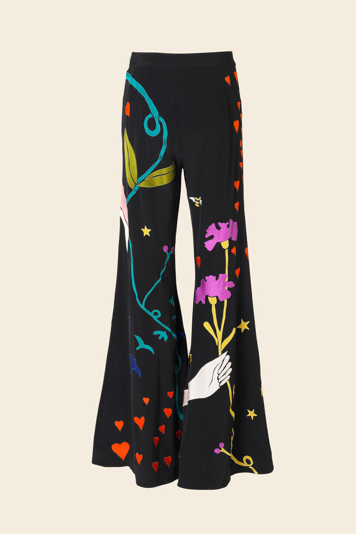 Stine Goya Gigi Showpiece Pants Pants 1928 Magic Appliqué