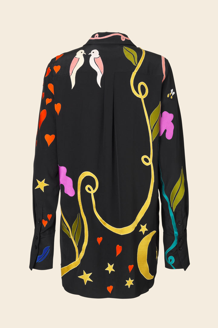 Stine Goya Virgo Showpiece Shirt Top 1928 Magic Appliqué