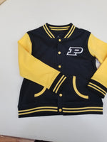 Personalized Purdue Kids Varsity Jacket
