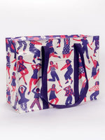 Blue Q Shoulder Tote Bag