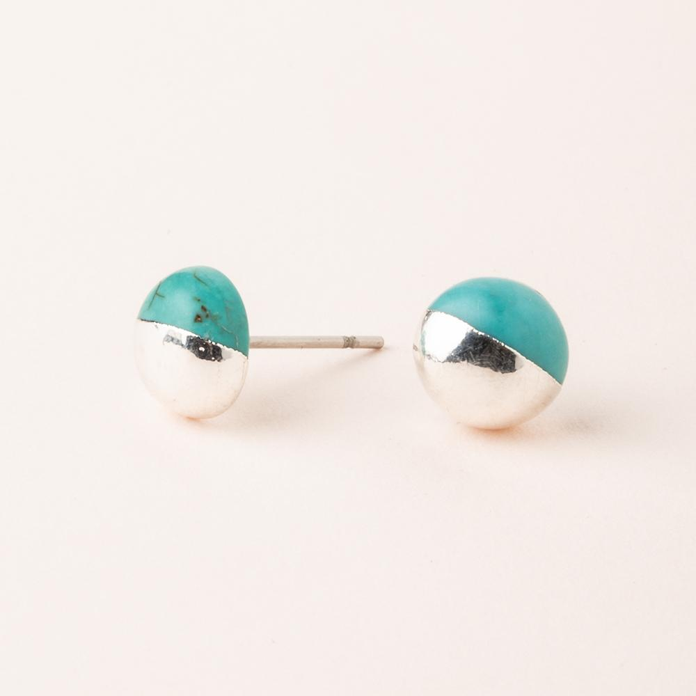 Scout Stone Stud Earrings