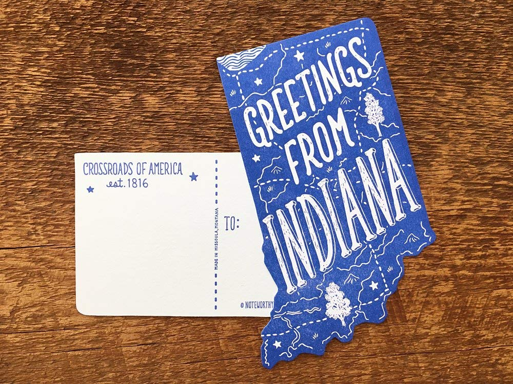 Indiana Post Card