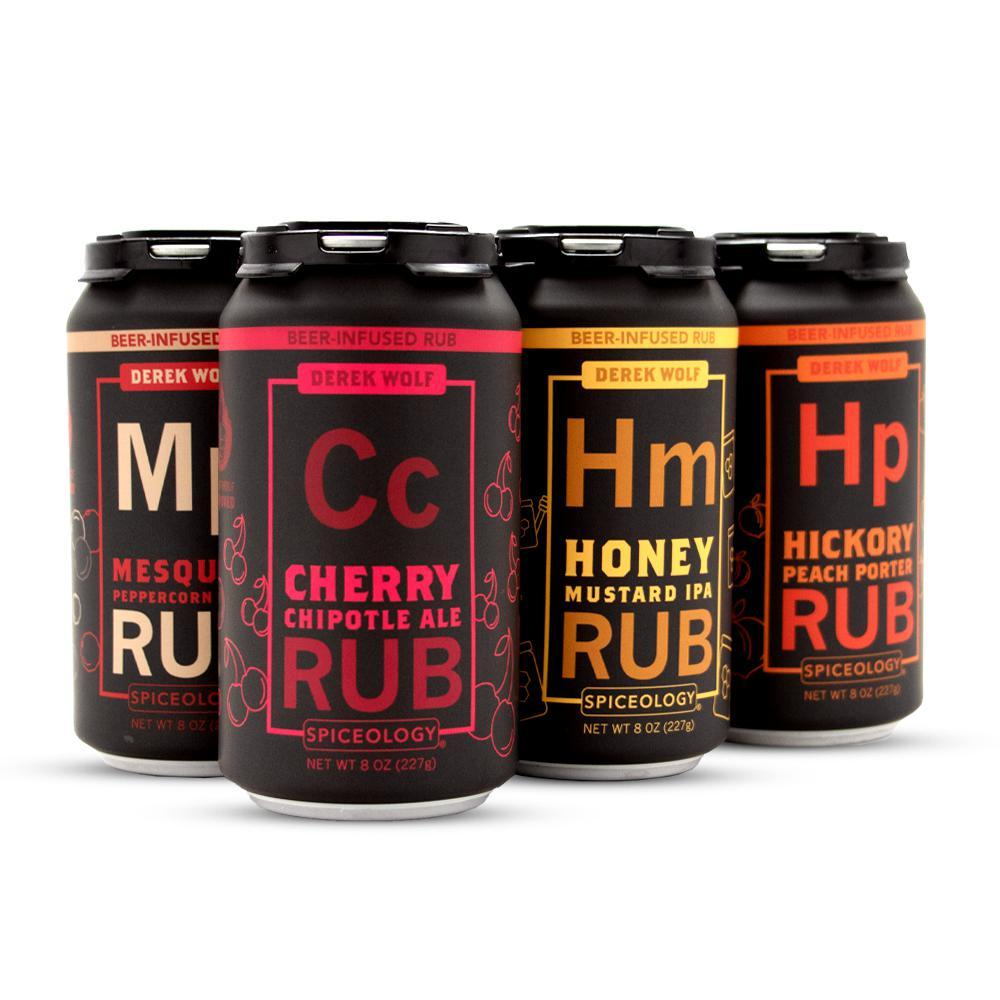 Derek Wolfe's Beer Infused Rubs