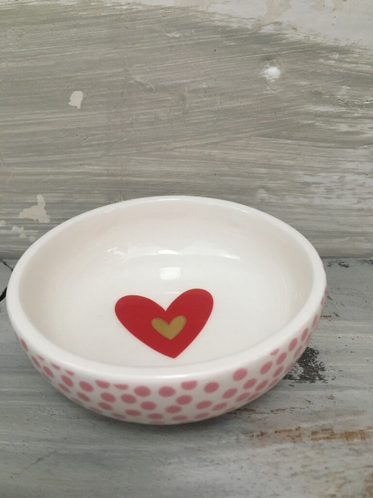 Happy Everything Hearts Trinket Dishes
