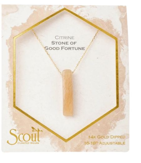 Scout Stone Point Necklaces