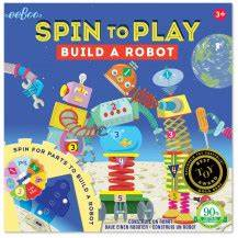 Eeboo Children Spin to Play & Board Games