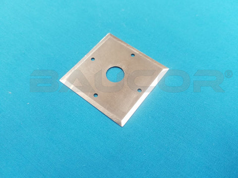 Tetragonal (4-Sided) Razor Blade - Part Number 61418