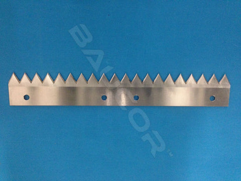 "6""-12"" Long Flat / Straight Saw Toothed Cut Knife Blade - Part Number 5119"