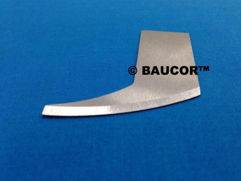 "50mm (1.960"") Long Curved Cutting Knife Blade -  Part Number 5055"