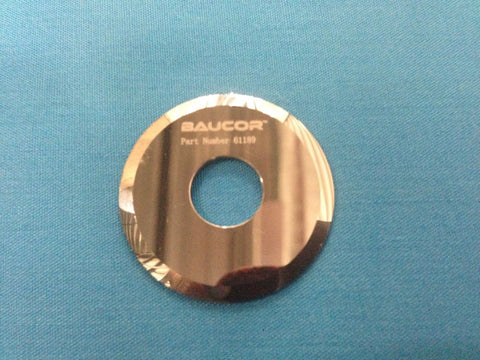 30mm Diameter Circular Carbide Slitting / Slitter Knife Blade - Part Number 61189