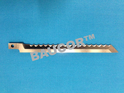 114mm Long Cutting Saw Toothed Knife Blade -  Part Number 5121