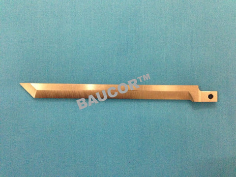 114mm Long Cutting Straight Flat Knife Blade -  Part Number 5124