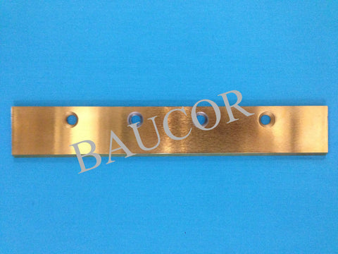 TiN Coated Straight Guillotine Razor Blade - Part Number 5213