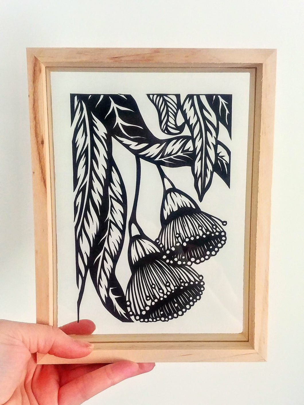 Eucalyptus Blossoms - Medium Framed Original