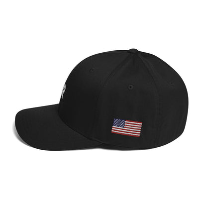 SR Star Logo - Structured Twill Cap Hats SOFREP Store