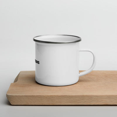 Keep Those Actions Clear - Enamel Mug SOFREP Store