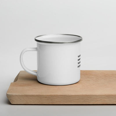 The Difficult done immediately - Enamel Mug SOFREP Store