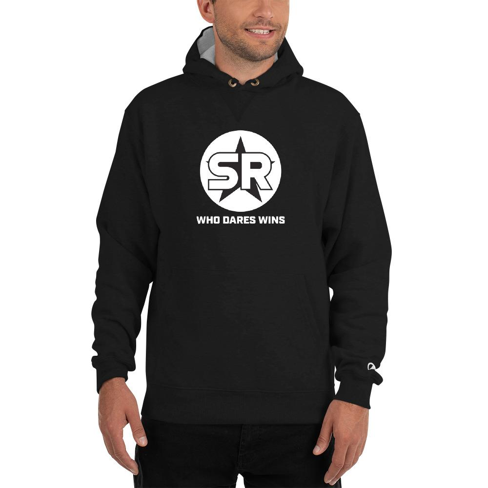 Who Dares Wins - Champion Hoodie Hoodies SOFREP Store S