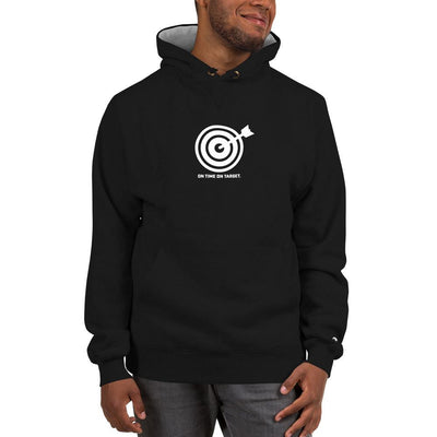 On Time On Target - Champion Hoodie SOFREP Store S