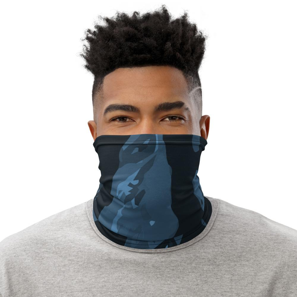 Blue Camo Neck Gaiter The Loadout Room