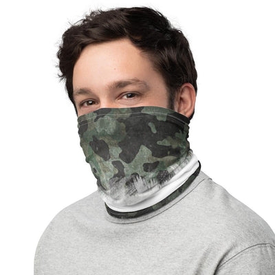 Camo & White Neck Gaiter Gaiters The Loadout Room