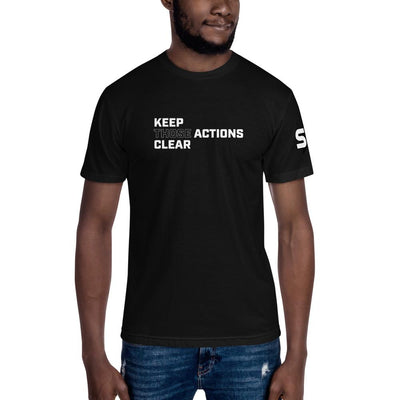 Keep Those Actions Clear - Unisex Crew Neck Tee T-Shirts SOFREP Store Black S