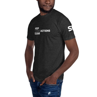 Keep Those Actions Clear - Unisex Crew Neck Tee T-Shirts SOFREP Store