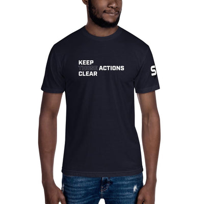 Keep Those Actions Clear - Unisex Crew Neck Tee T-Shirts SOFREP Store Navy S