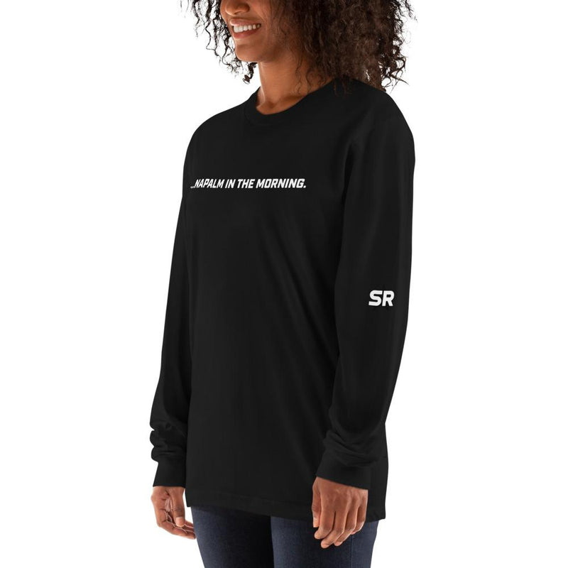 Napalm in the Morning - Long sleeve t-shirt SOFREP Store Black S