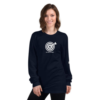 On Time On Target - Long sleeve t-shirt SOFREP Store Navy S