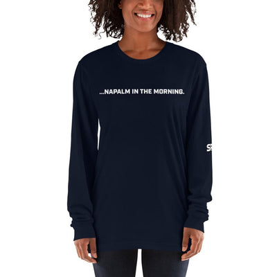 Napalm in the Morning - Long sleeve t-shirt SOFREP Store Navy S