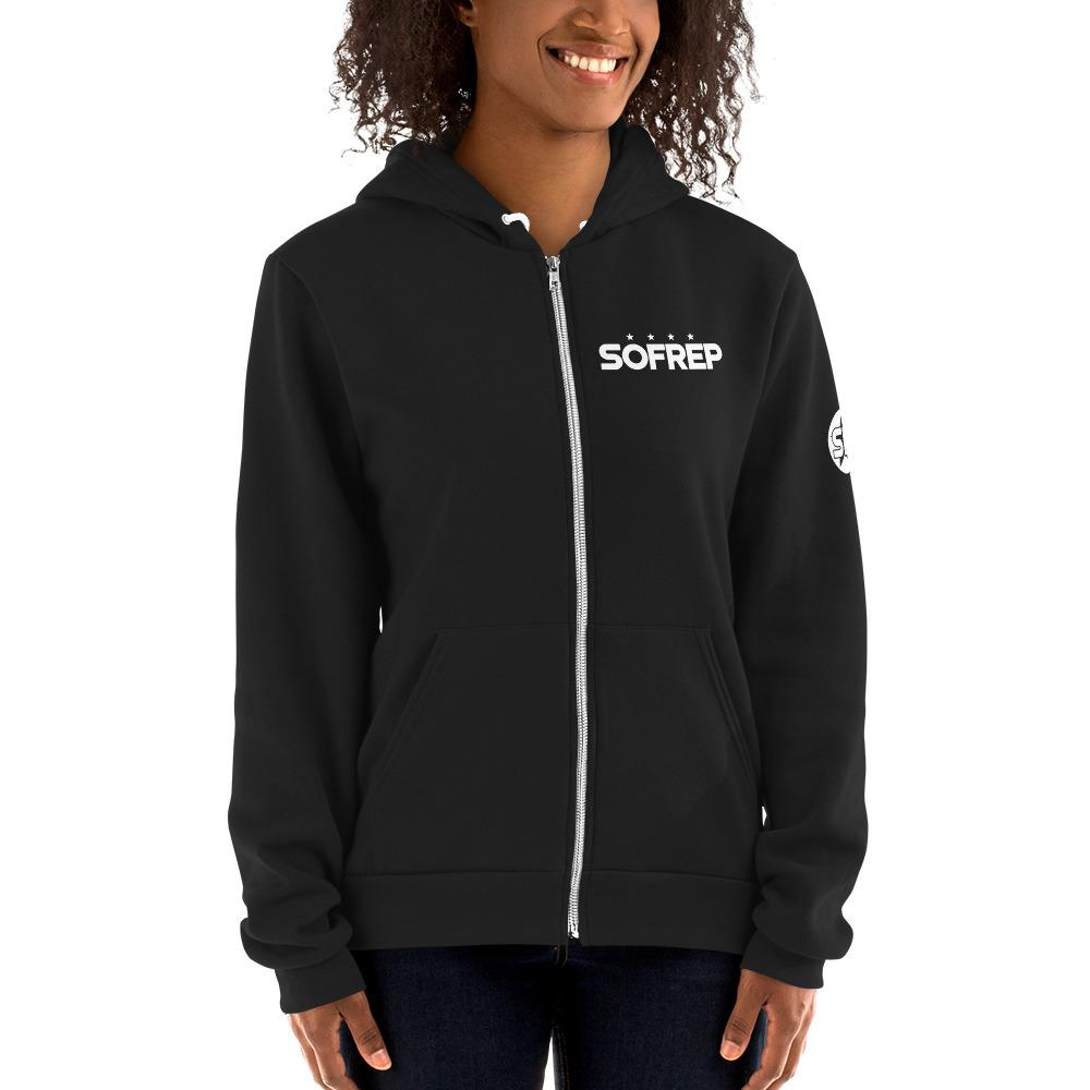 On Time On Target - Hoodie sweater Hoodies SOFREP Store Black XS