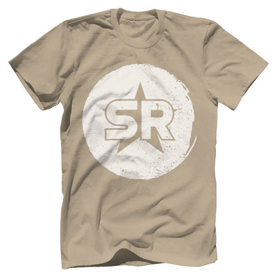 "SR ""Circle Front and Center"" Tee T-Shirts SOFREP Premium Men's Tee Sand XS"